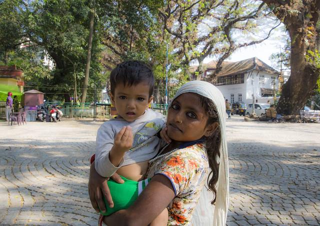 Sister and Brother, Fort Kochi, Kerala, India