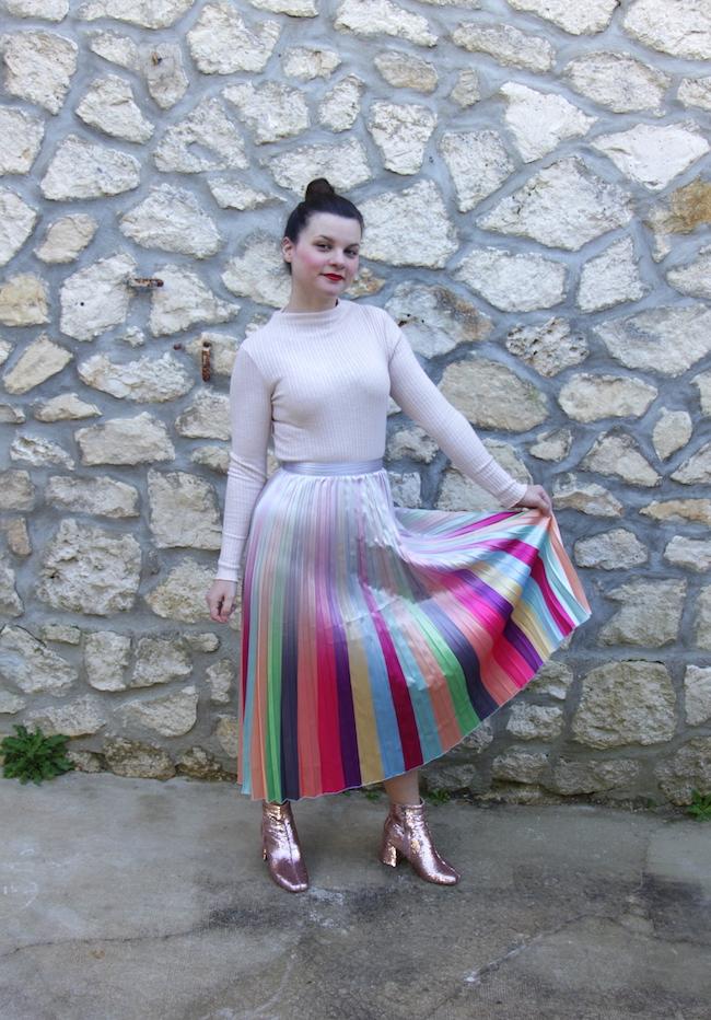 Comment porter la couleur arc-en-ciel ?