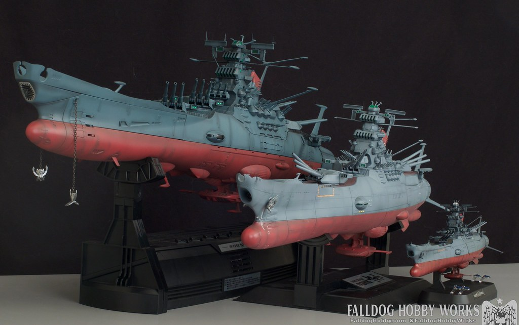 Space Battleship Yamato Builds 1