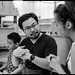 waex99 posted a photo:The friendly staff at STPI during the last Open DaysLeica M6Summicron 50mmKodak tri-xEpson v800