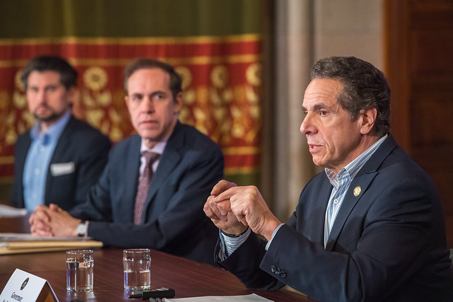 Governor Cuomo Holds a Briefing on COVID-19 Response