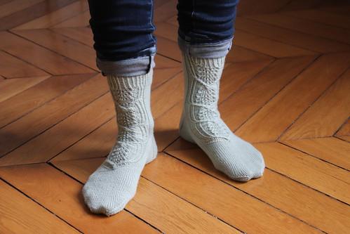 Cloudchaser socks