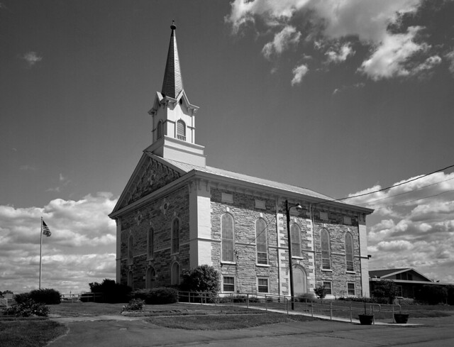 Christ Evangelical Lutheran Church in Stouchburg, PA, June 2012