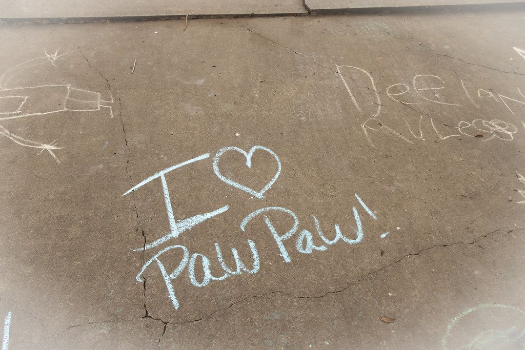 I heart Paw Paw. I like that one.