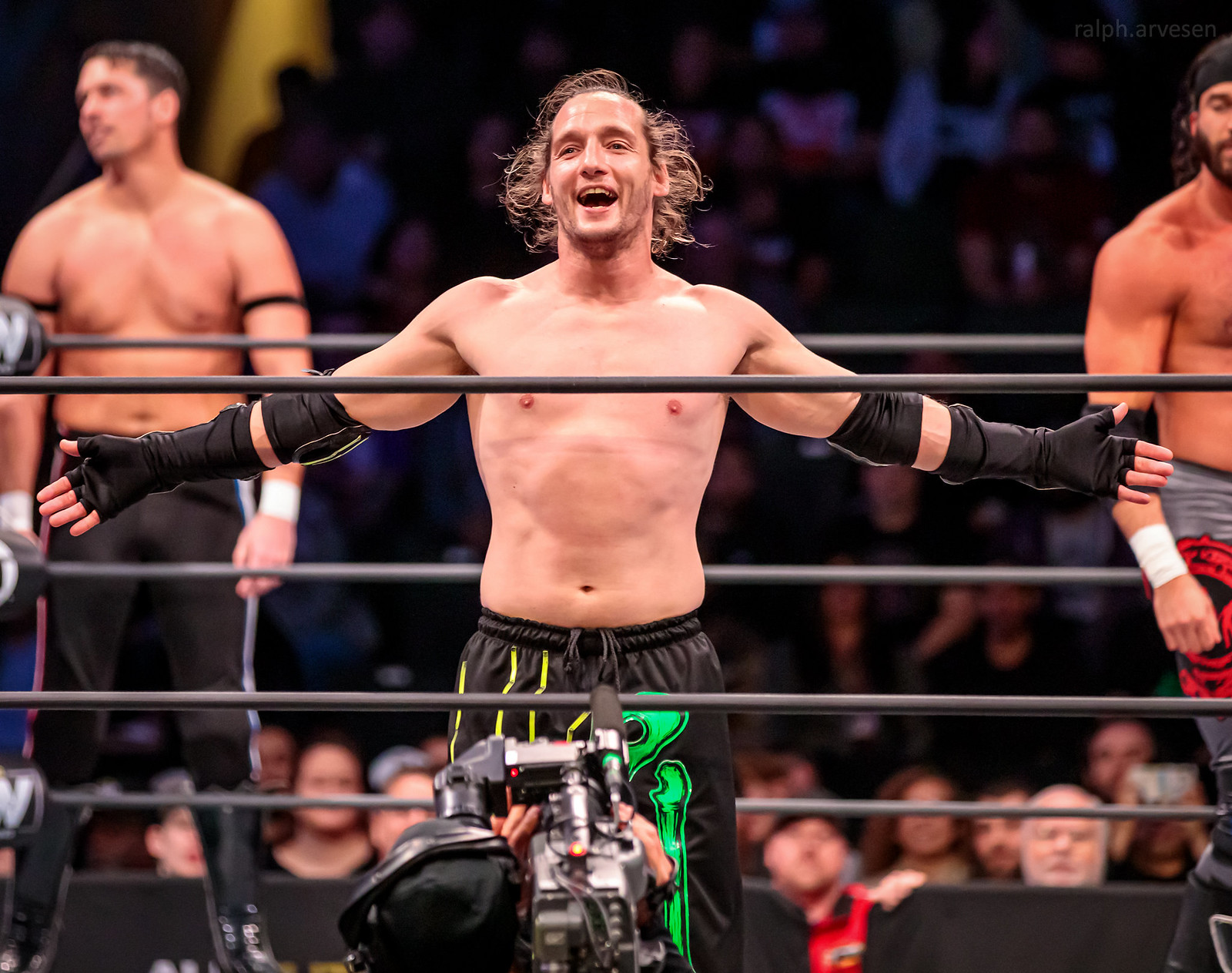 All Elite Wrestling | Texas Review | Ralph Arvesen