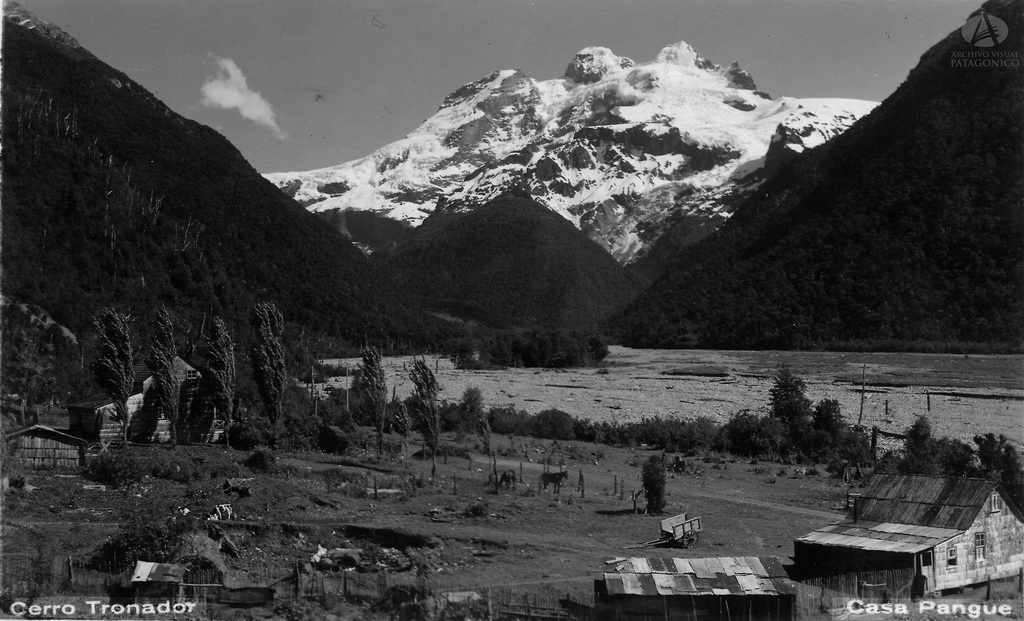 Volcán Tronador I Casa Pangue I Cordilera de los Andes