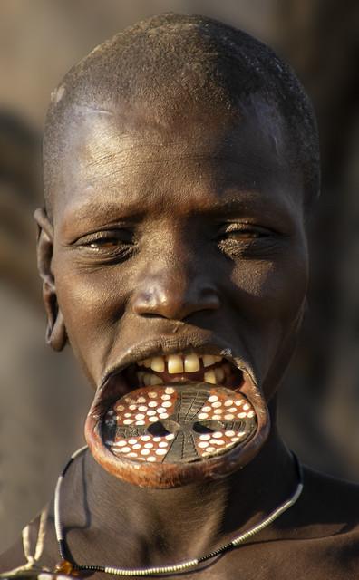 Lip plate - Ethiopia 2020