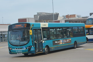 1467 NK61 CXY Arriva North East