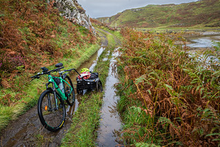 Ulva to Gometra bike ride