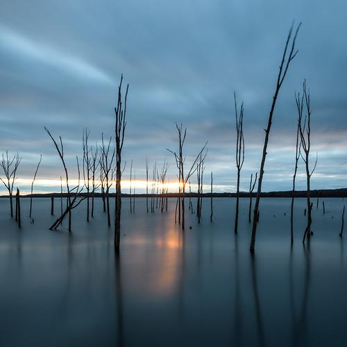 manasquanreservoir howellnewjersey sunrise longexposure