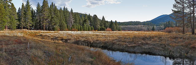 Big Meadow Creek Panorama