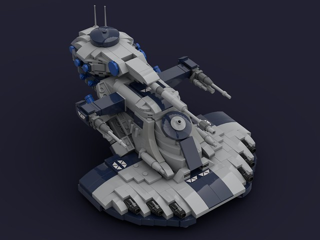AAT (Armored Assault Tank) Minifig Scale