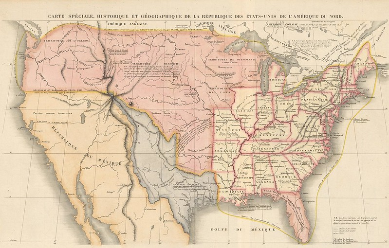 The Republic of Texas and the US (1841), Paris