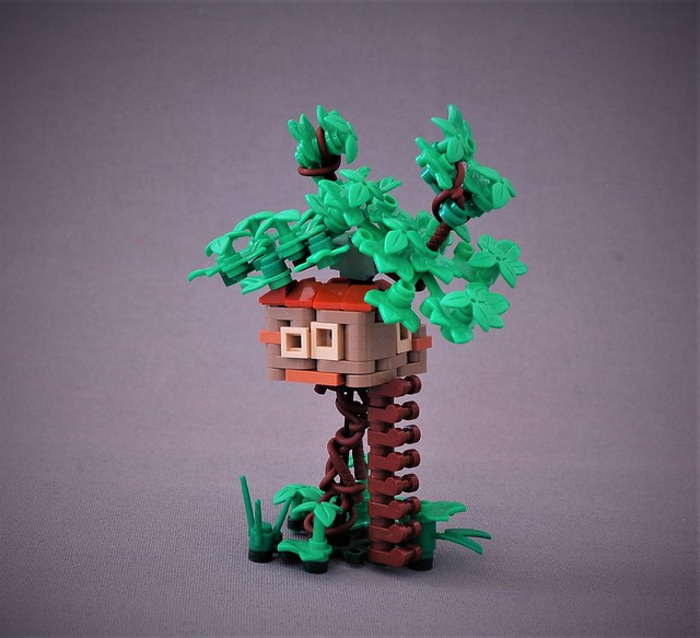 Teeny tiny treehouse