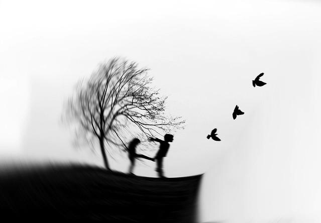 Envole toi Vis ta vie et garde tes questions. La vraie liberté, c'est d'accorder à l'autre l'envol de ses désirs et le charme de taire ce qu'il en fait.