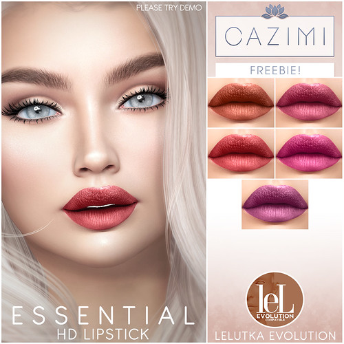 CAZIMI Essential HD Lipstick (FREE!)