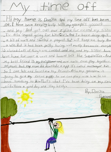 danika letter