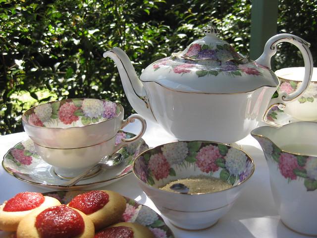 Tea on the Terrace