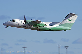 Widerøes Dash 8 LN-WIC at ENGM/OSL 13-03-2020 | by Ole Johan Beck