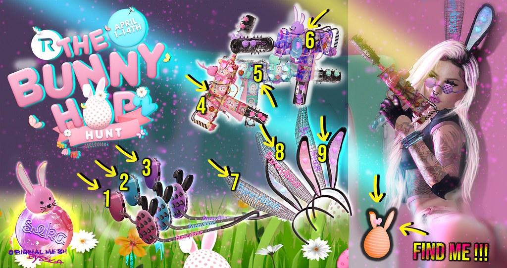SEKA's Bunnylicious @The Bunny Hop Hunt 2