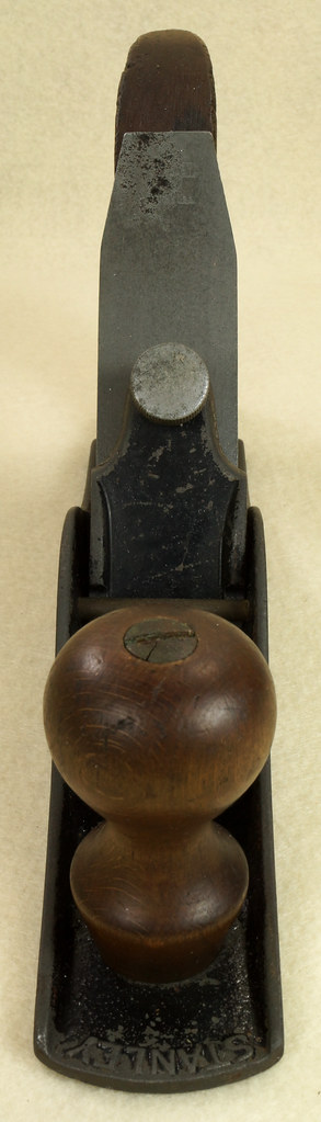 RD29011 Antique Vintage Stanley No. 40 Roughing Scrub Plane DSC01818