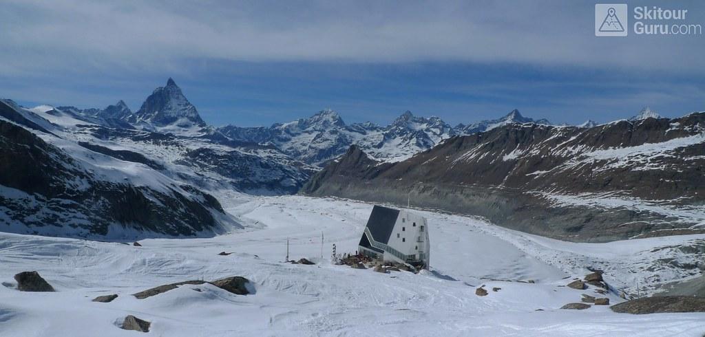 Monte Rosa Hütte Walliser Alpen / Alpes valaisannes Switzerland photo 01