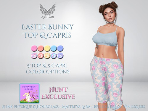 [Ari-Pari] Easter Bunny Top and Capris