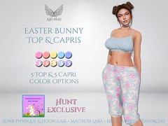 [Ari-Pari] Easter Bunny Top and Capris