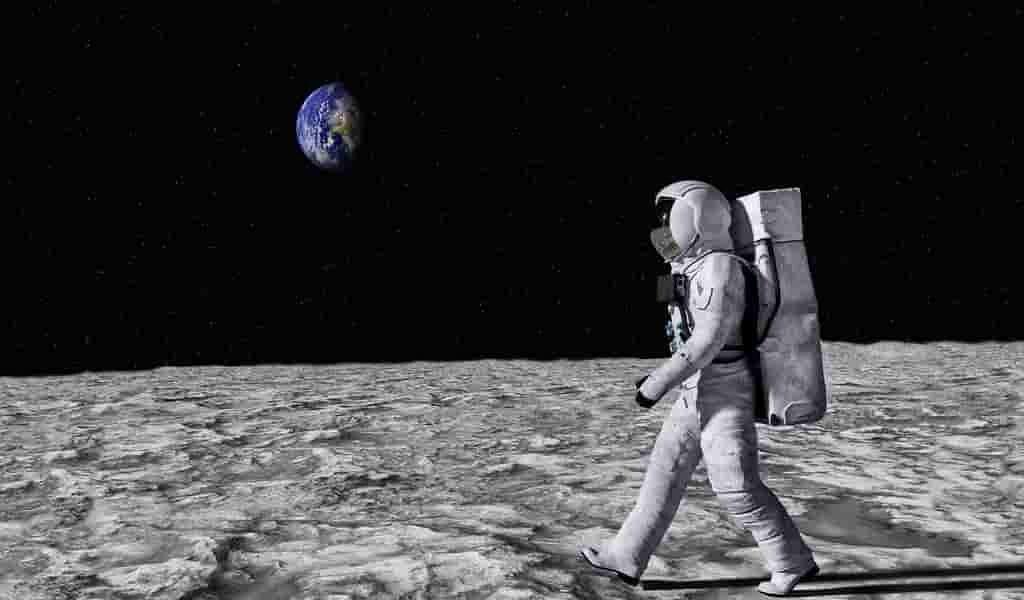 Utiliser de l'urine pour construire des bases lunaires