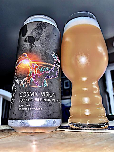 Cosmic Vision Hazy Double IPA - Dynasty Brewing Company Ashburn Virginia