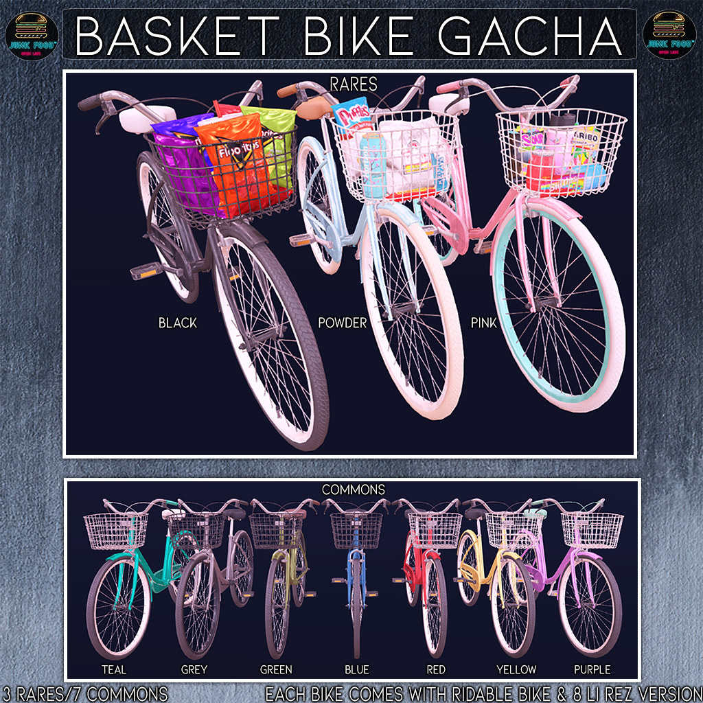 Junk Food - Basket Bike Gacha Ad