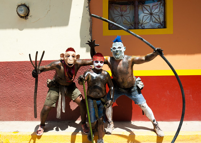 Carnival, San Martin Tilcajete, Oaxaca
