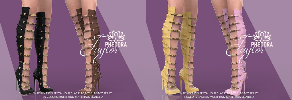 "Phedora for Kinky Event + GIVEAWAY ~ ""Taylor"" Boots ♥"