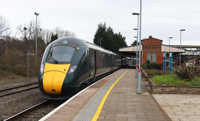 Great Western Railway 800309 , Hereford 2.3.19