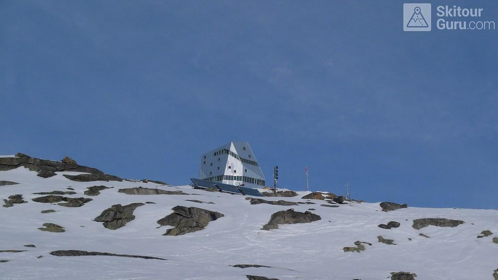 Monte Rosa Hütte Walliser Alpen / Alpes valaisannes Switzerland photo 03