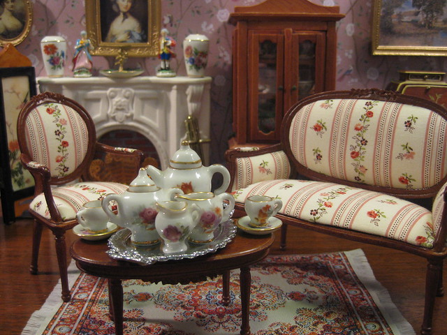 Tea in the Salon at Wickham Place