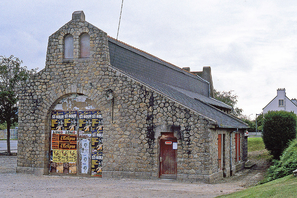 R12183.  Old Loco shed at Crozon-Morgat.
