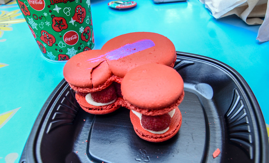 Jolly Holiday Raspberry Rose Macaroon DL