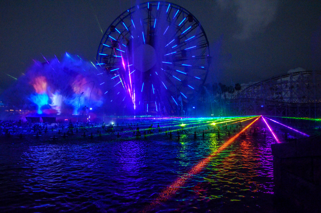 World of Color lights DCA