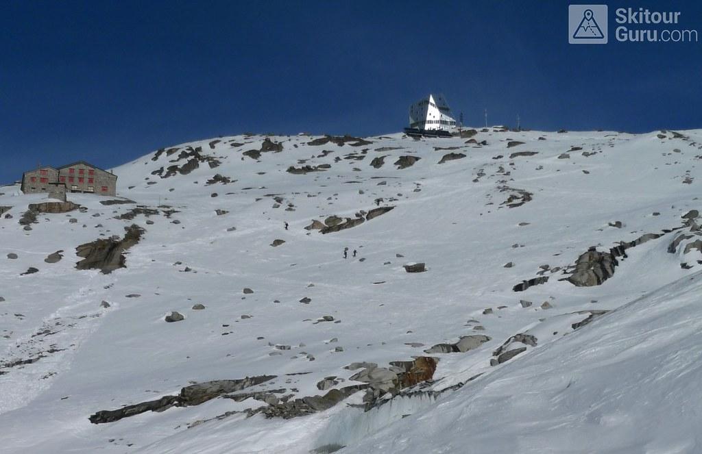 Monte Rosa Hütte Walliser Alpen / Alpes valaisannes Switzerland photo 02