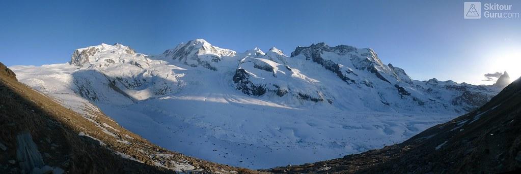 Monte Rosa Hütte Walliser Alpen / Alpes valaisannes Switzerland photo 19