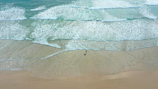 Brazilian sandy beach