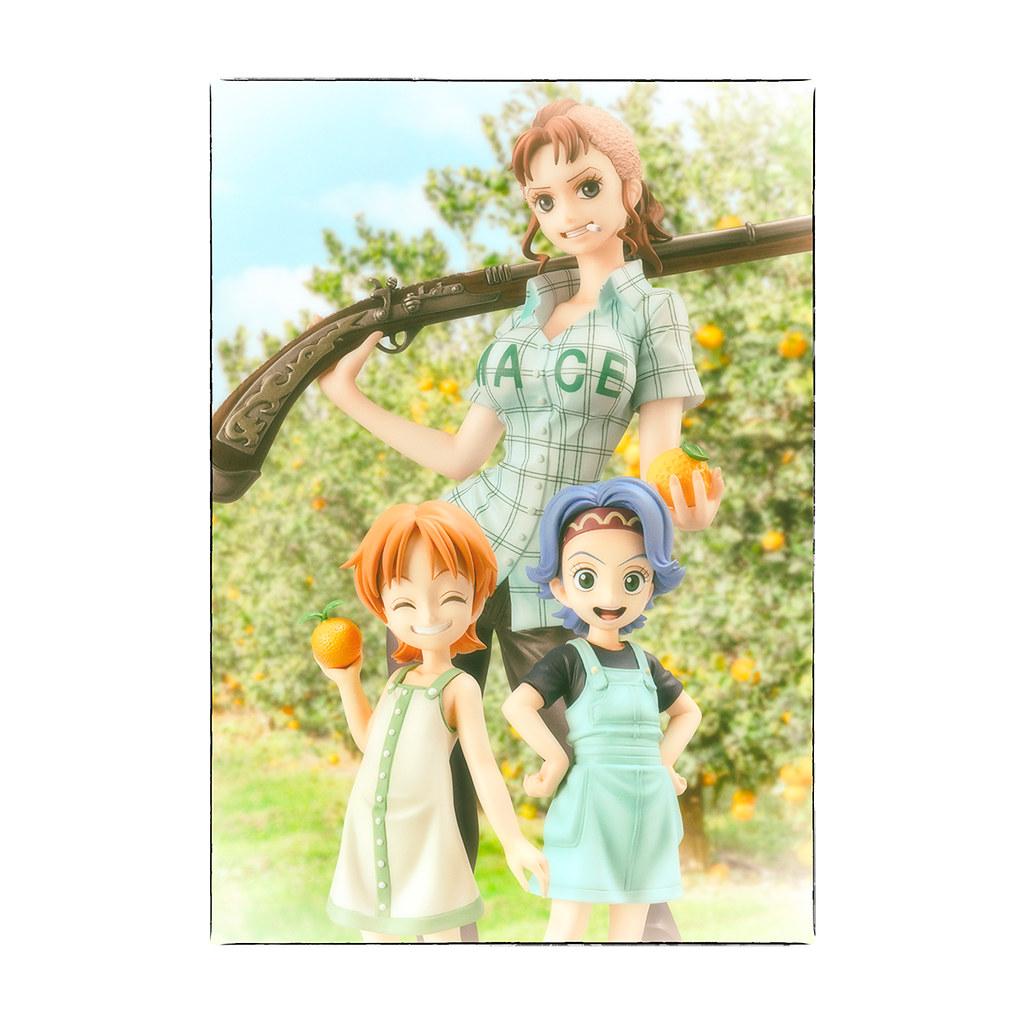 就算只是嘴上說說,我還是想當她們的媽媽!P.O.P《ONE PIECE 航海王》Playback Memories 系列「貝爾梅爾」PVC塗裝完成品(ベルメール)