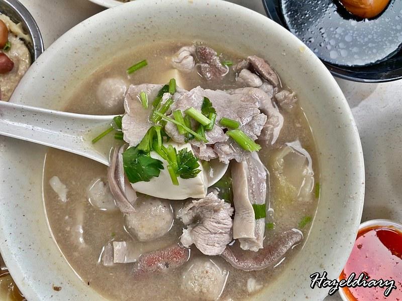Cheng Mun Chee Kee Pig Organ Soup -Pig Organ Soup