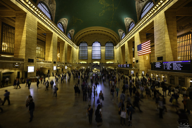 Indoor view Grand Central Terminal - New York City - USA