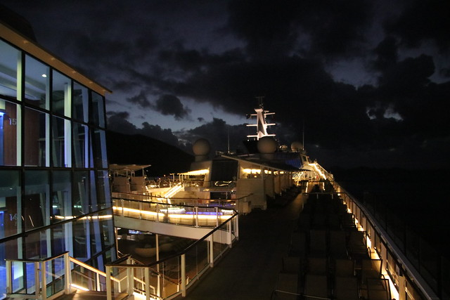 Morning & Sunrise on the Celebrity Equinox Arriving at Road Town, Tortola, British Virgin Islands - February 19th, 2020