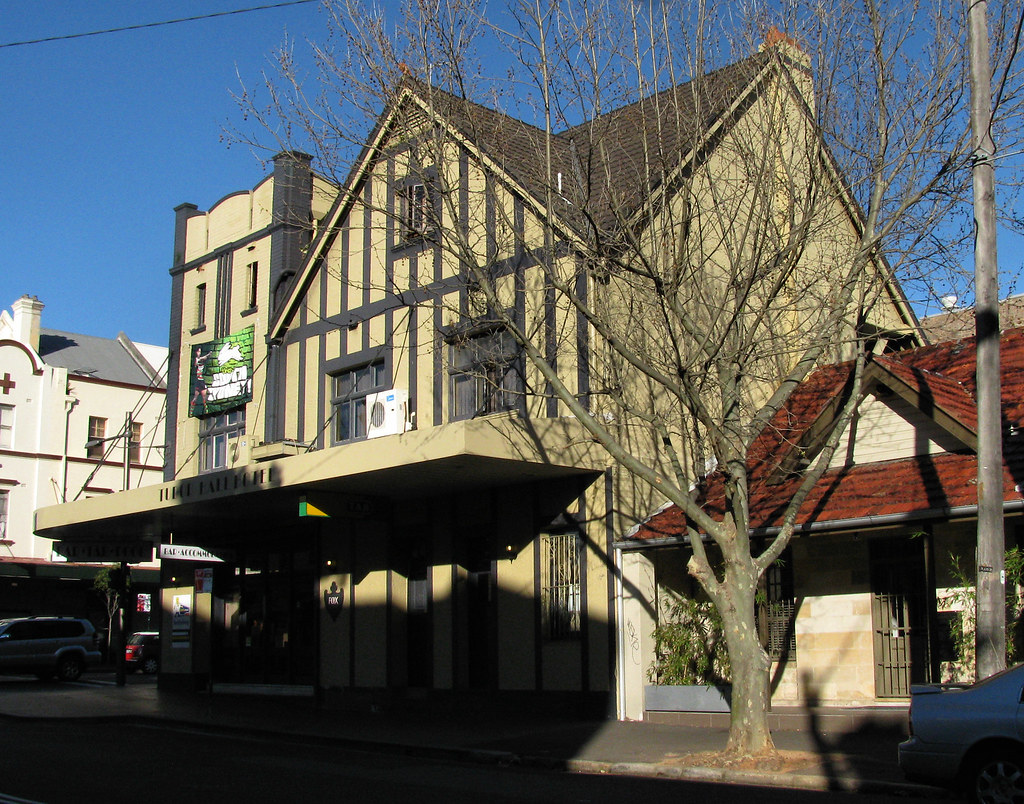 Tudor Hall Hotel, Redfern, Sydney, NSW.