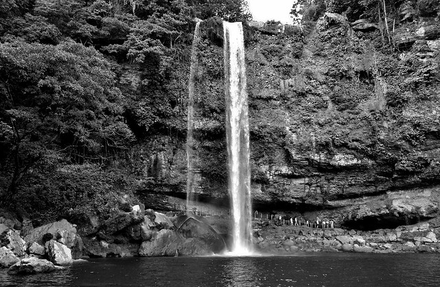 MEXICO, Chiapas , Wasserfall von Misol Ha, nahe Palenque , 19629/12528