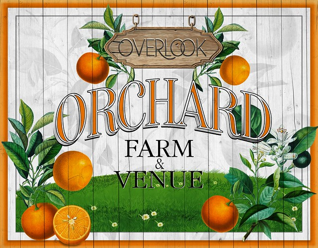 Overlook Orchard - Farm & Venue Logo
