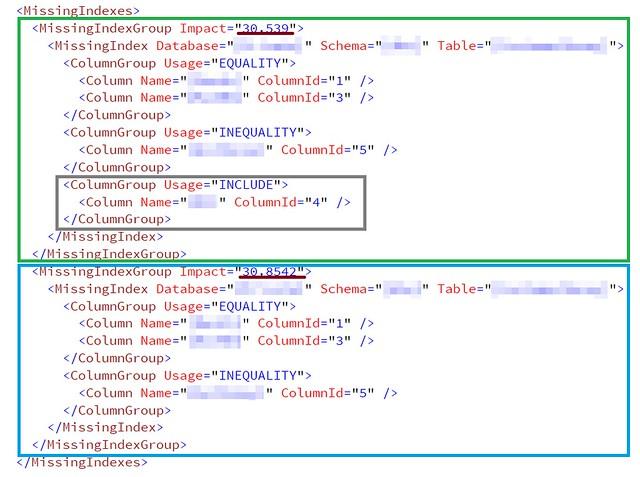 [SQL] 使用 XML 執行計畫觀察遺失索引-2